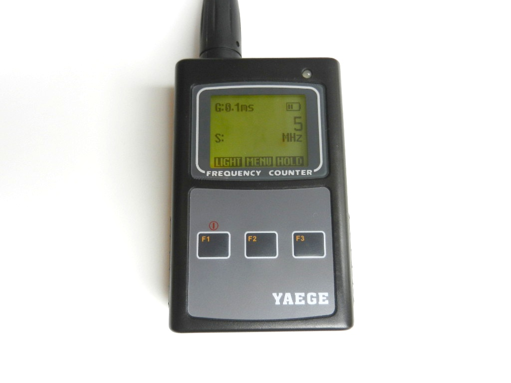 Photo Eye Frequency Counter : Yaege fc frequency counter qluster electronics